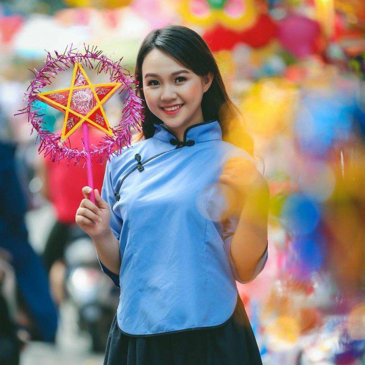 'Soi' nhan sắc thật của nữ sinh Tuyên Quang hóa thân thành 'em gái quê' trong bộ ảnh cúc họa mi gây sốt MXH Ảnh 13
