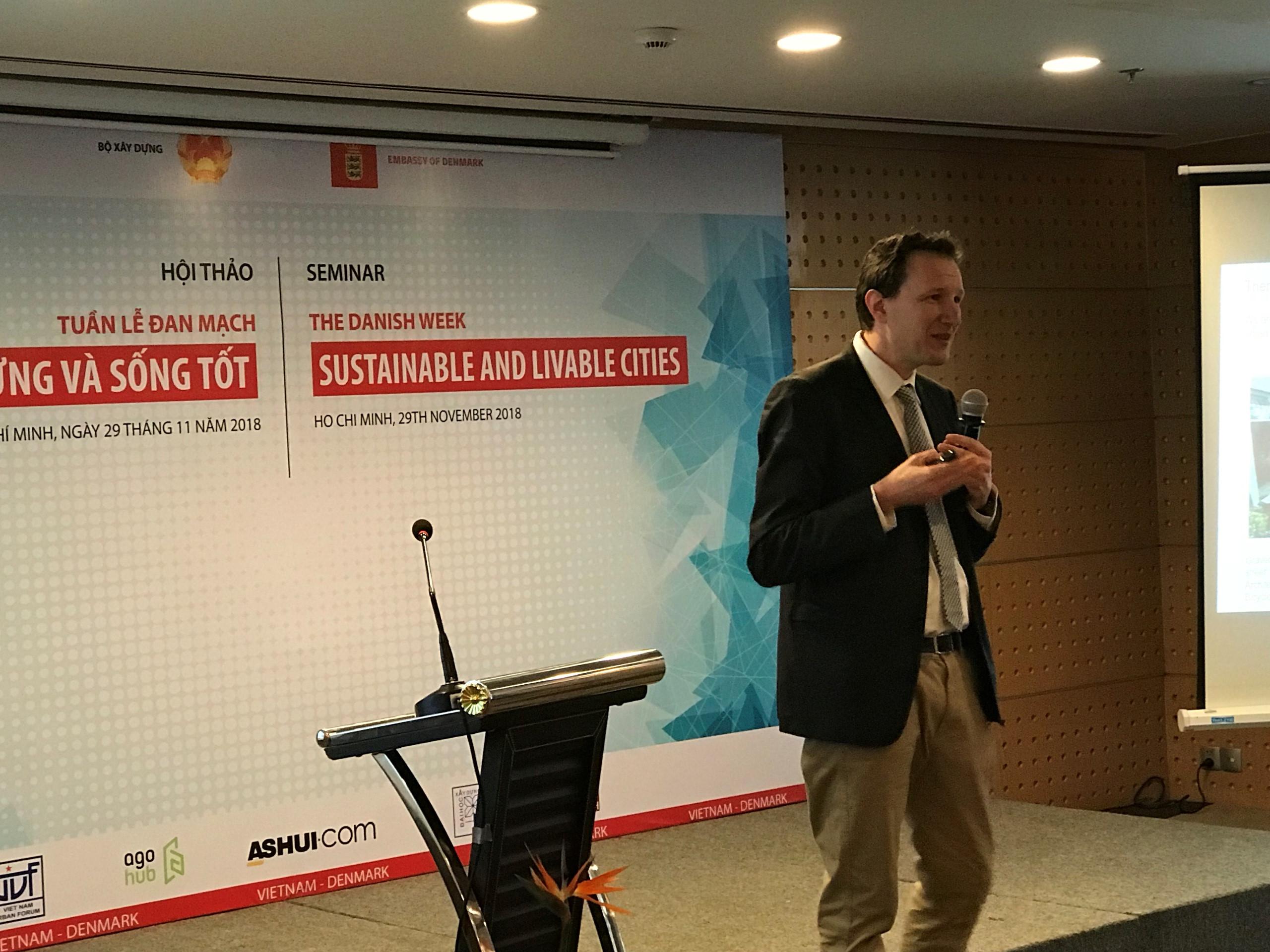 3 điều giáo sư Đan Mạch đề xuất cho TP.HCM để xây đô thị bền vững Ảnh 2