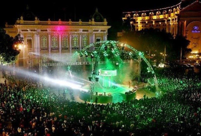 Tổ chức lễ hội đếm ngược Countdown tại Nhà hát lớn và Hồ Gươm Ảnh 1