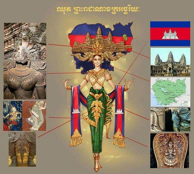 Với trang phục dân tộc có 1-0-2 này, hoa hậu Lào sẽ di chuyển, đứng ngồi ra sao Ảnh 6