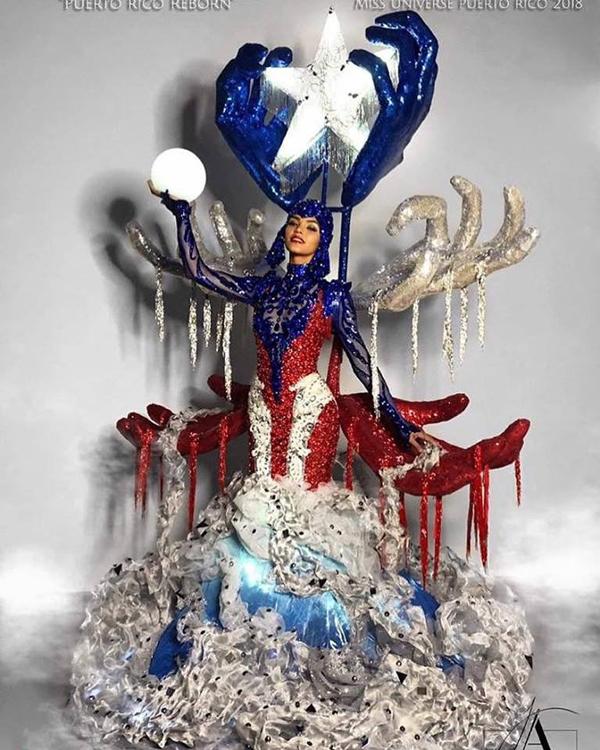 Với trang phục dân tộc có 1-0-2 này, hoa hậu Lào sẽ di chuyển, đứng ngồi ra sao Ảnh 8
