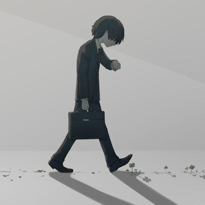 Những bức tranh thấm thía về mặt tối của cuộc sống Ảnh 1