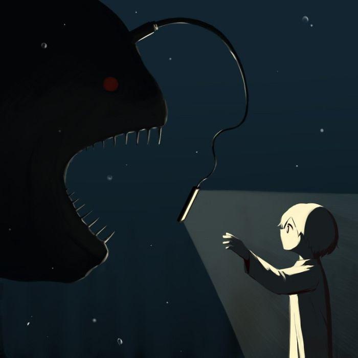 Những bức tranh thấm thía về mặt tối của cuộc sống Ảnh 6