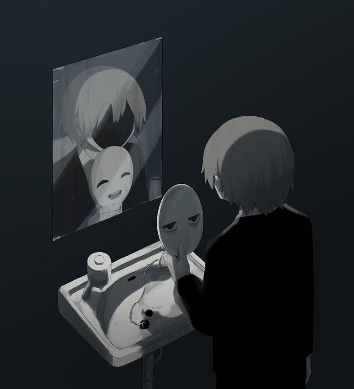 Những bức tranh thấm thía về mặt tối của cuộc sống Ảnh 7