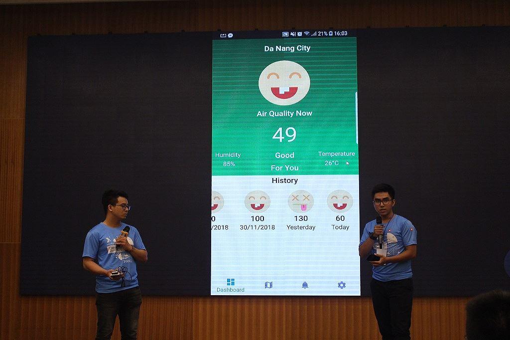 Ứng dụng báo cáo tình trạng giao thông thắng DevFest Hackathon 2018 Ảnh 3