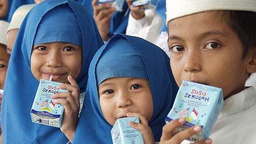 Khát khao ly sữa học đường Ảnh 1