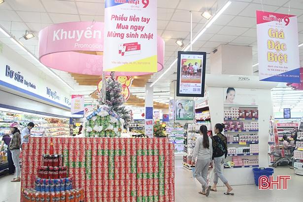 Doanh thu hàng Việt từ siêu thị Co.opmart Hà Tĩnh đạt trên 250 tỷ đồng Ảnh 1