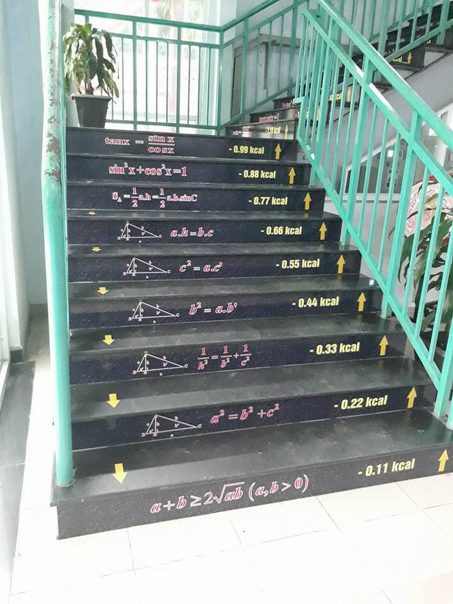 Những bậc cầu thang giúp học trò mang công thức Toán - Lý - Hóa 'in sâu vào tiềm thức' Ảnh 3
