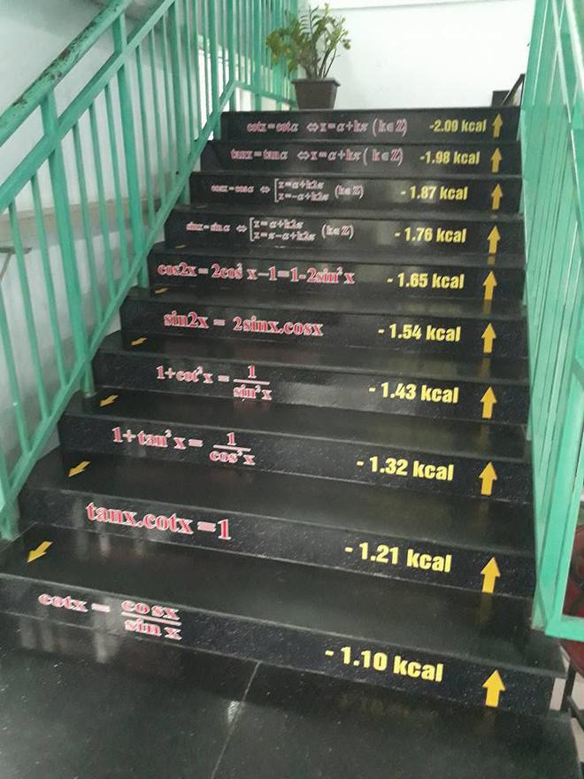 Những bậc cầu thang giúp học trò mang công thức Toán - Lý - Hóa 'in sâu vào tiềm thức' Ảnh 4