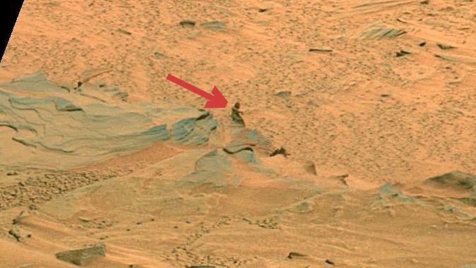 Những hình thù bí ẩn từng xuất hiện trên sao Hỏa Ảnh 4