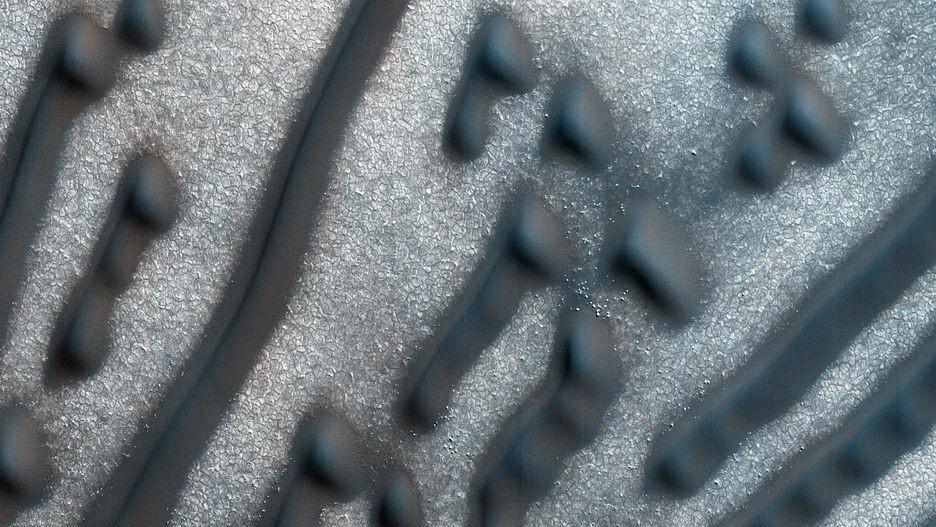 Những hình thù bí ẩn từng xuất hiện trên sao Hỏa Ảnh 9