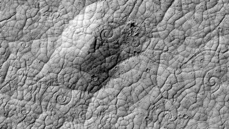Những hình thù bí ẩn từng xuất hiện trên sao Hỏa Ảnh 7