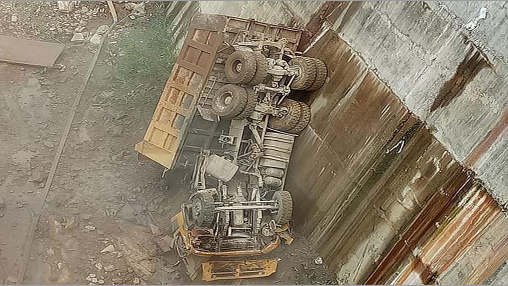 Xe tải lao xuống vực sâu, tài xế tử vong trong ca bin Ảnh 1