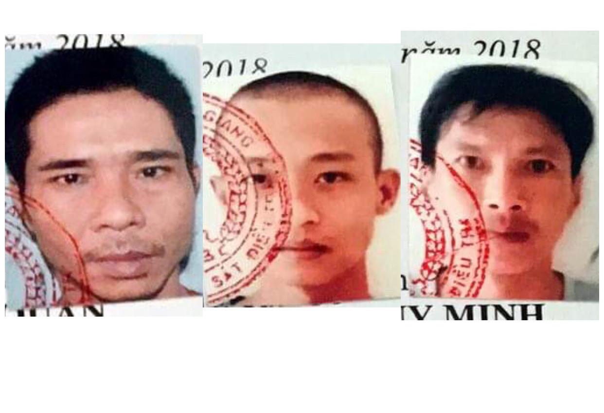 Truy nã đặc biệt 3 phạm nhân trốn trại phạm tội ma túy, giết người Ảnh 1