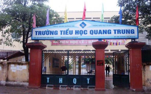 Bộ Giáo dục yêu cầu Hà Nội báo cáo việc học sinh bị phạt tát 50 cái Ảnh 1