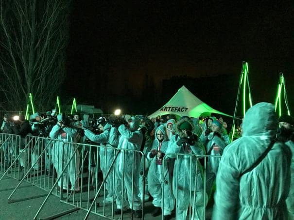 Từ tử địa thành sàn nhảy, Chernobyl hồi sinh sau thảm họa hạt nhân Ảnh 3