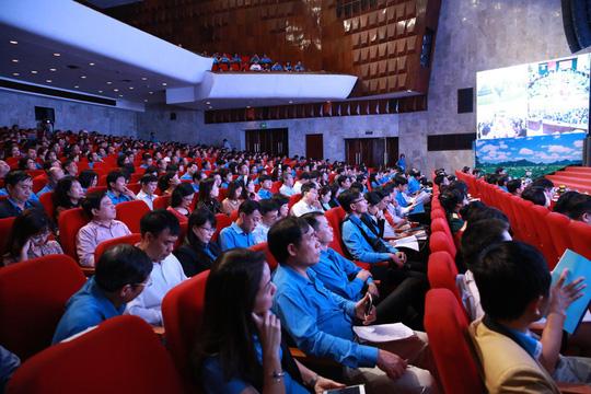 Hội nghị trực tuyến toàn quốc học tập, quán triệt Nghị quyết Đại hội XII Công đoàn Việt Nam Ảnh 2