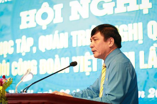 Hội nghị trực tuyến toàn quốc học tập, quán triệt Nghị quyết Đại hội XII Công đoàn Việt Nam Ảnh 1