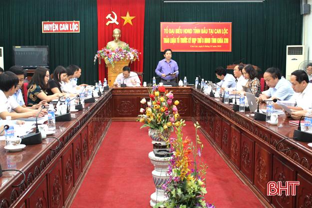 Tỉnh sẽ có chính sách hỗ trợ Can Lộc xây dựng huyện nông thôn mới Ảnh 1