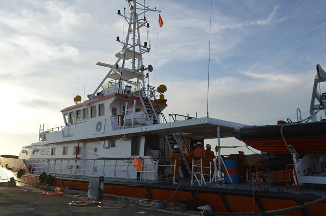 Tàu cá bị chìm, ba thuyền viên mất tích Ảnh 1