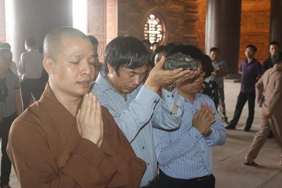 Chùa Tam Chúc có thể sẽ là một trong những ngôi chùa lớn nhất thế giới Ảnh 1