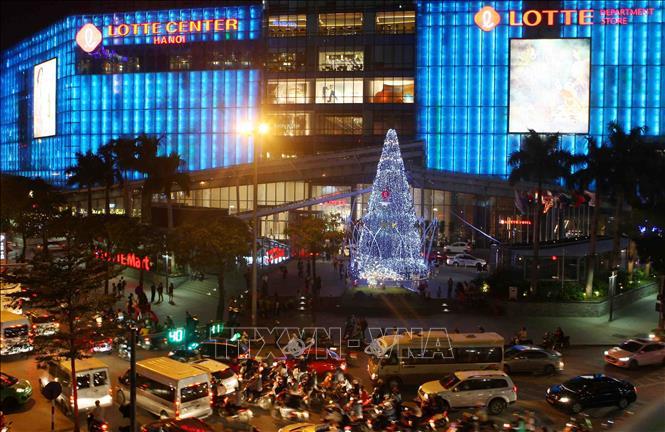 Hà Nội rực rỡ chào đón Giáng sinh 2018 Ảnh 6