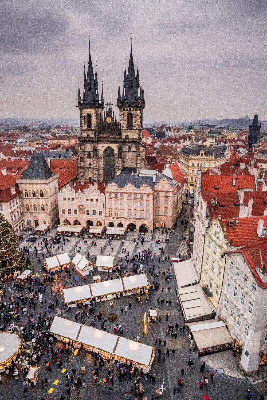 Ngắm hoàng hôn ở Prague - Thành phố đẹp nhất châu Âu Ảnh 1