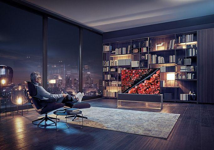 LG trình làng sản phẩm TV 'chất' đầu tiên trên thế giới Ảnh 1