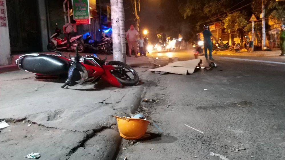 Xe container đâm chết người rồi tháo chạy ở Sài Gòn Ảnh 2