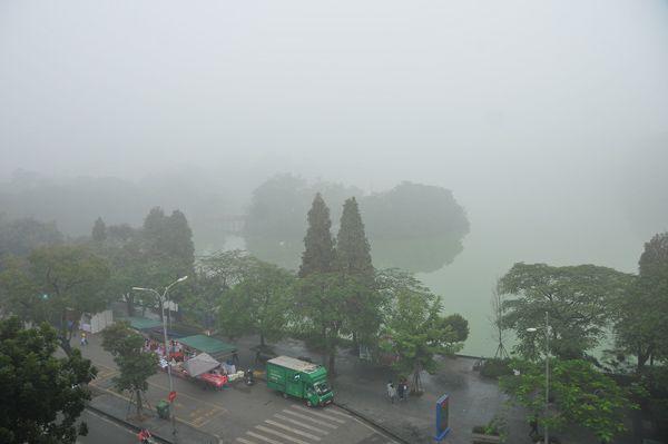 Hà Nội trong màn sương huyền ảo Ảnh 2
