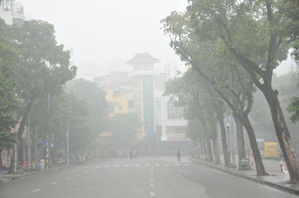 Hà Nội trong màn sương huyền ảo Ảnh 5