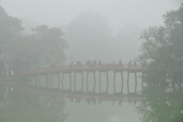 Hà Nội trong màn sương huyền ảo Ảnh 3