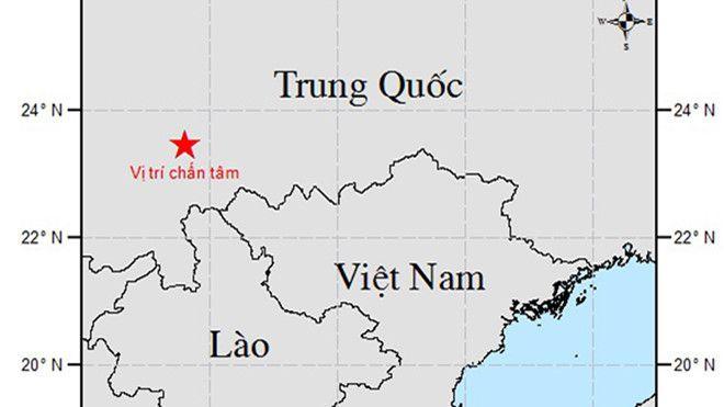 Xuất hiện động đất gần biên giới Việt Nam - Trung Quốc ảnh 1