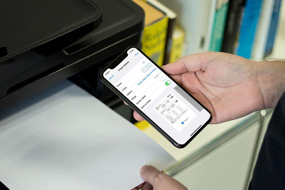 Hướng dẫn in không dây từ iPhone và iPad Ảnh 1