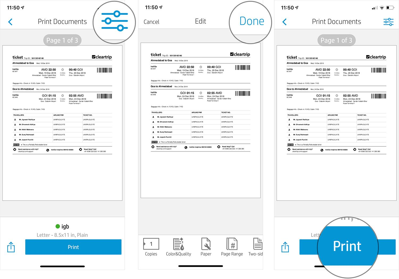 Hướng dẫn in không dây từ iPhone và iPad Ảnh 9