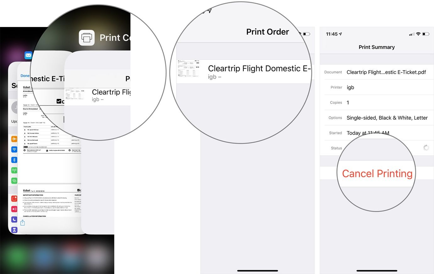 Hướng dẫn in không dây từ iPhone và iPad Ảnh 6