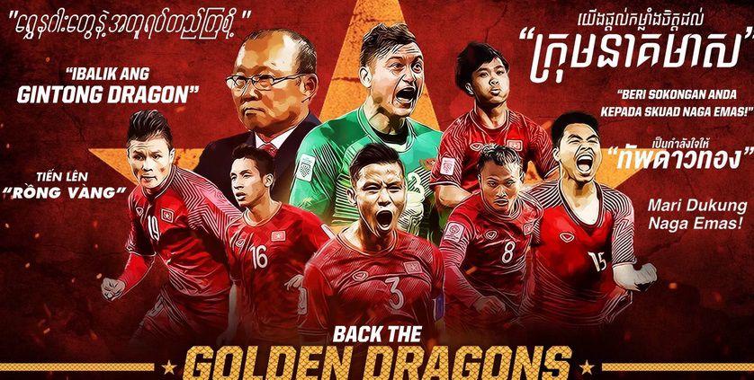 Asian Cup 2019: CĐV Đông Nam Á chúc tuyển Việt Nam đánh bại Nhật Bản tại tứ kết Ảnh 1
