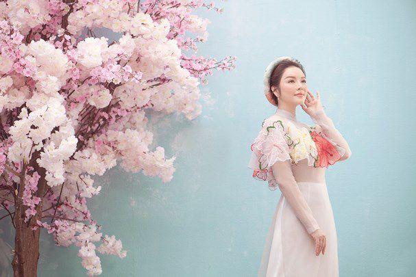 Lý Nhã Kỳ đẹp ngọt ngào trong bộ ảnh mừng Xuân Ảnh 1