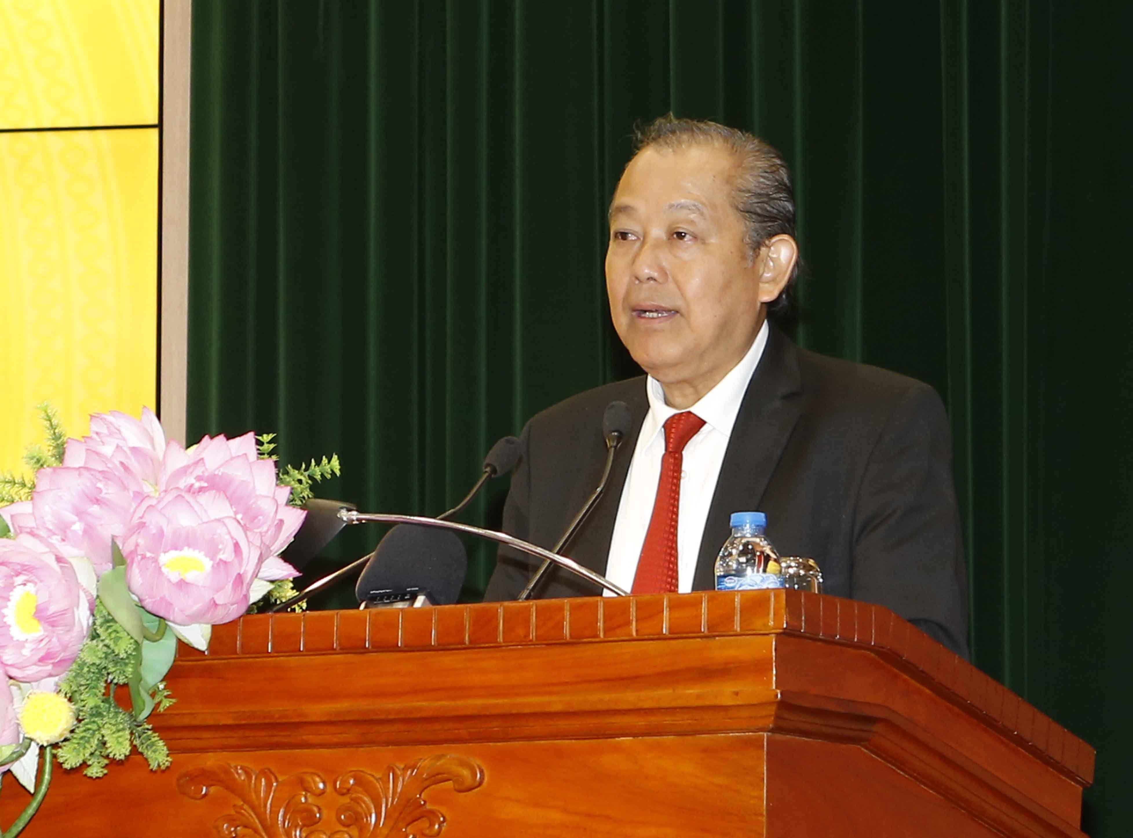 Phó Thủ tướng Trương Hòa Bình thăm và chúc Tết Kiểm toán Nhà nước Ảnh 1