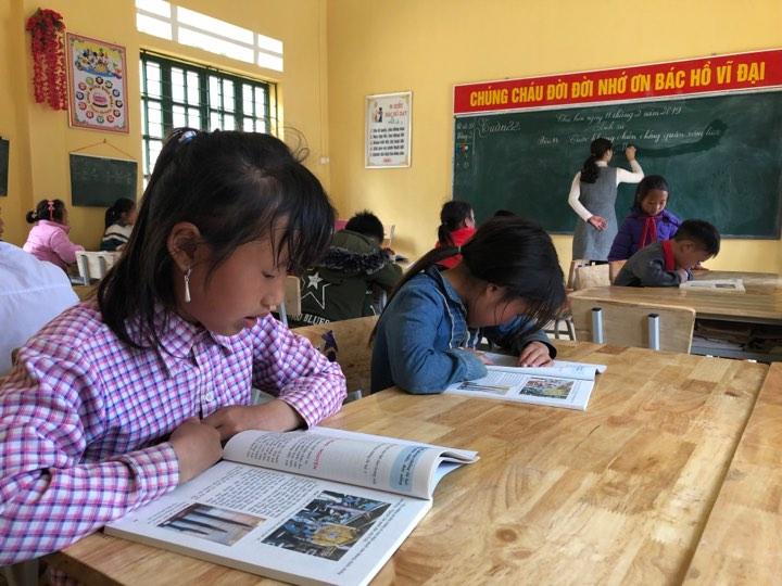 96% học sinh ở Pha Long đã trở lại các điểm trường đi học sau kỳ nghỉ Tết Ảnh 1