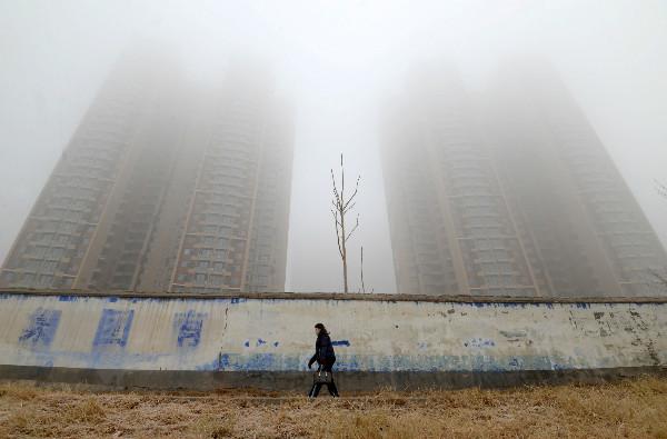 Ô nhiễm ở miền Bắc Trung Quốc tăng 16% trong tháng 1 Ảnh 1