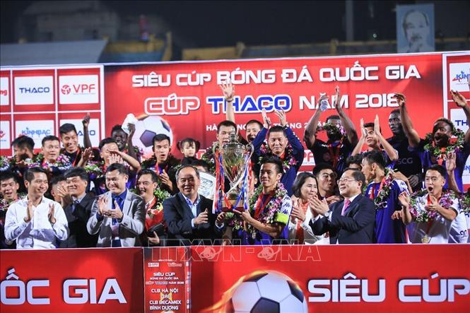 Đánh bại Becamex Bình Dương 2-0, Hà Nội FC giành Siêu Cúp quốc gia Ảnh 1