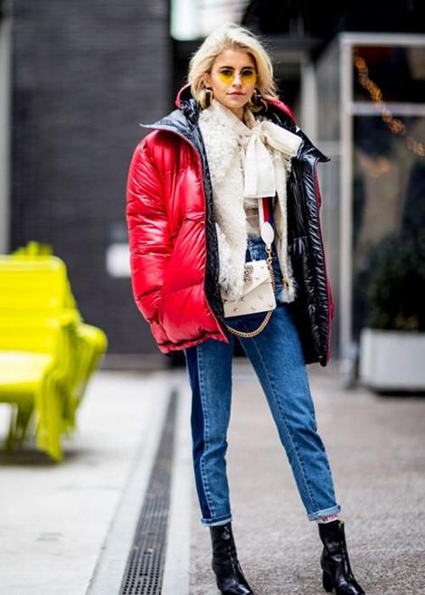Cách phối áo phao vừa ấm, vừa đẹp cho nàng những ngày lạnh Ảnh 4