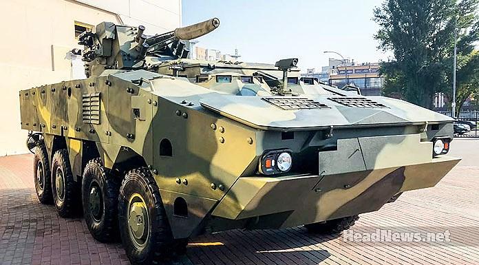 Ukraine quyết 'hất cẳng' Nga khỏi thị trường vũ khí bằng siêu thiết giáp BTR-4MV1 Ảnh 15