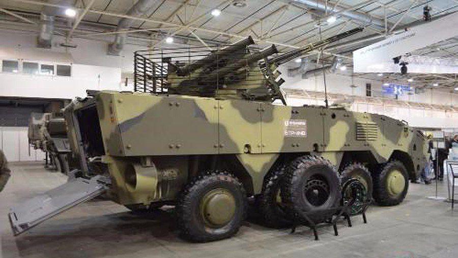 Ukraine quyết 'hất cẳng' Nga khỏi thị trường vũ khí bằng siêu thiết giáp BTR-4MV1 Ảnh 8