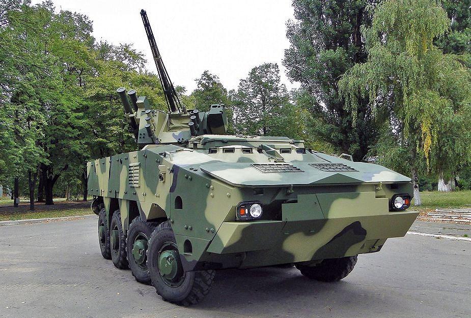 Ukraine quyết 'hất cẳng' Nga khỏi thị trường vũ khí bằng siêu thiết giáp BTR-4MV1 Ảnh 13