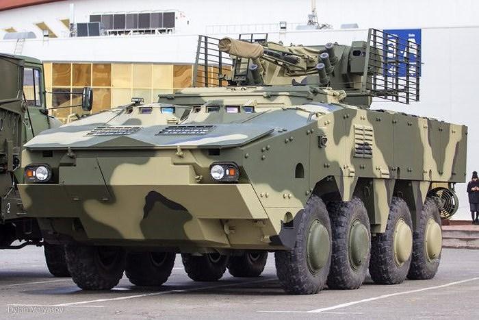 Ukraine quyết 'hất cẳng' Nga khỏi thị trường vũ khí bằng siêu thiết giáp BTR-4MV1 Ảnh 9