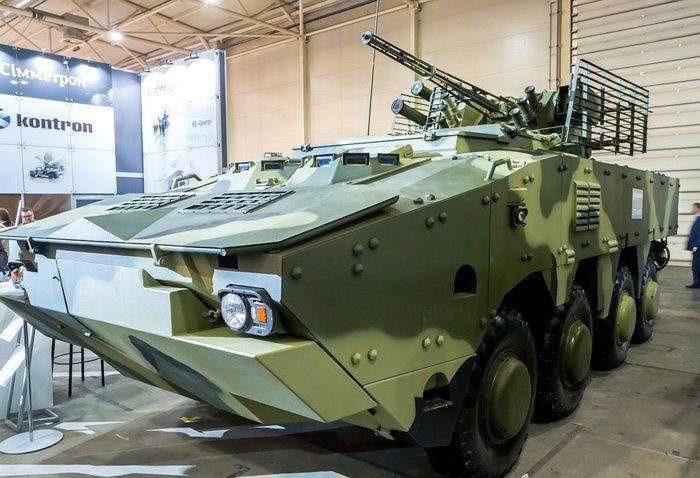 Ukraine quyết 'hất cẳng' Nga khỏi thị trường vũ khí bằng siêu thiết giáp BTR-4MV1 Ảnh 2