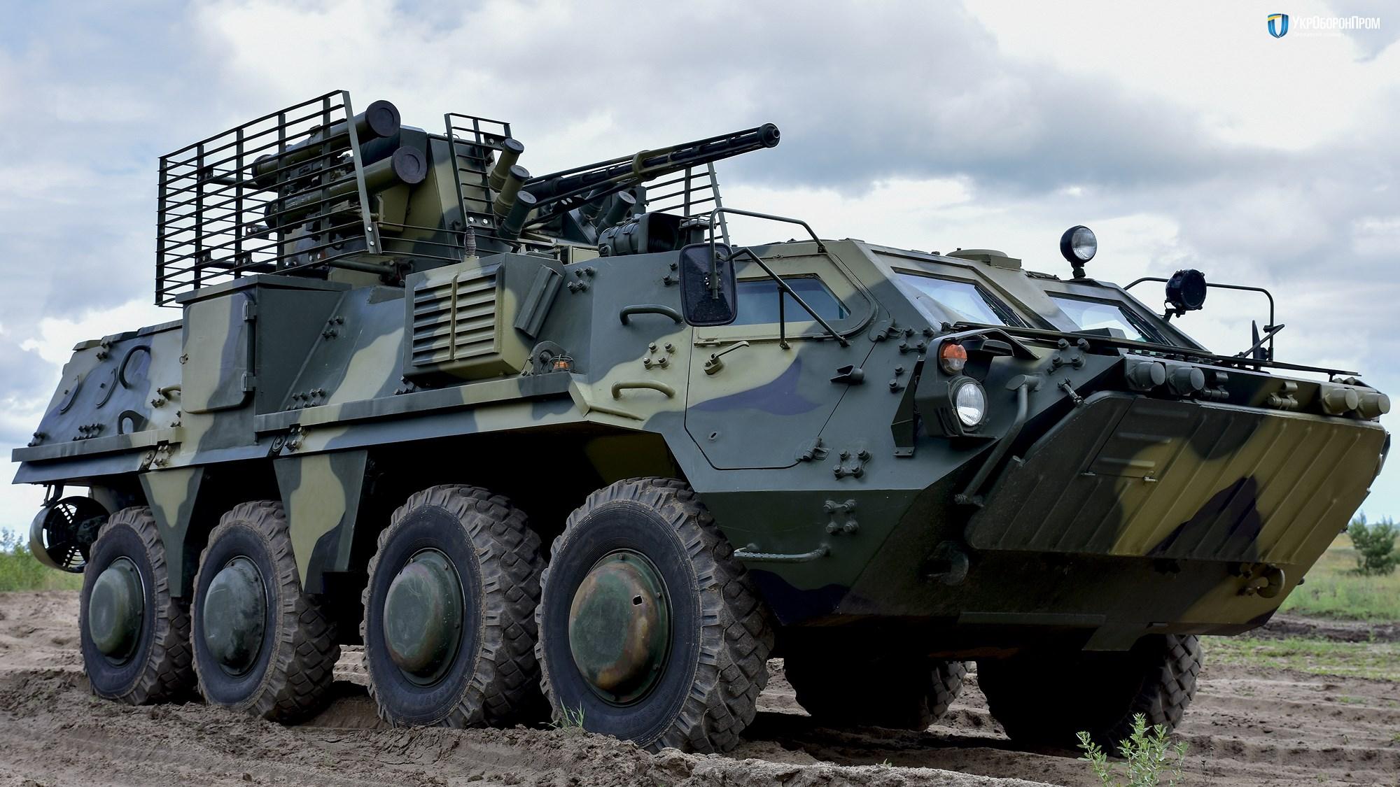 Ukraine quyết 'hất cẳng' Nga khỏi thị trường vũ khí bằng siêu thiết giáp BTR-4MV1 Ảnh 3