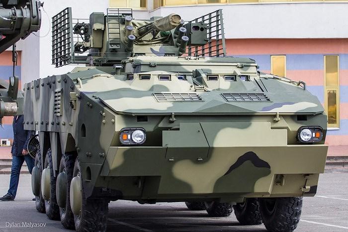 Ukraine quyết 'hất cẳng' Nga khỏi thị trường vũ khí bằng siêu thiết giáp BTR-4MV1 Ảnh 11